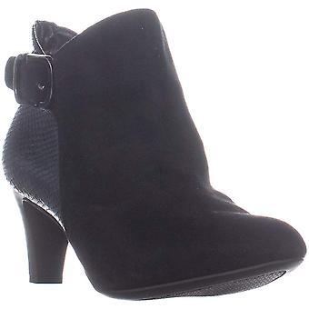 Alfani Womens Valmontt Almond Toe Ankle Fashion Boots