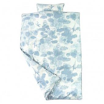 Sebra - bed linen - junior - in the sky - cloud blue