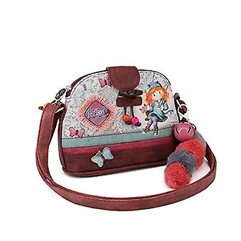 Forever Ninette Ninette Swing-Moon Schultertasche (Klein) Messenger Bag 20 cm Multicolor (Multicolour)