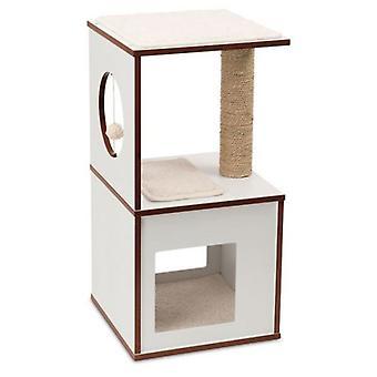 Hagen Vesper V-Box lille hvid (katte, legetøj, skrabe stillinger)