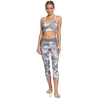 Roxy Take Me To The Beach Capri Capris dans Charcoal Heather Darwin S