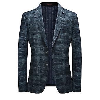 Allthemen Men's Slim Fit Suit Jacket 2 Blazer Formal Estampado Floral Abotoado