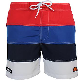 Ellesse portofino men's red swim shorts