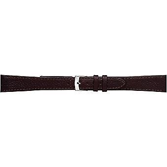 Morellato leather bracelet 16 mm Brown DUBLIN man A01K0753333034CR18