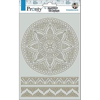 Pronty Crafts Mandala & Bordures A5 Chipboard