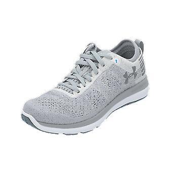 Under Armour UA W Threadborne Fortis Kvinnors Sports Shoes Grey Sneaker Turn Skor