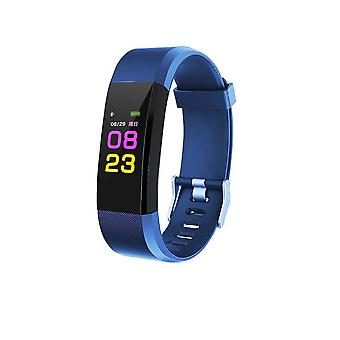 ID115 Plus activity wristband with color Display-dark blue