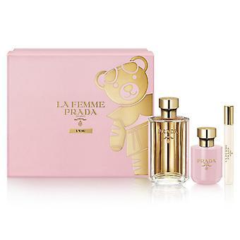 Ensemble de parfums Pour femmes La Femme Prada (3 pcs)