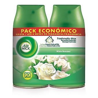 Air Wick FreshMatic Duplo White Bouquet air freshener 2 x 250 ml refill
