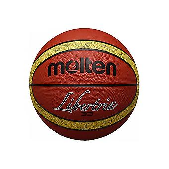 Molten B6T2000-TI 33 Libertria Rubber Top Quality Durable Official 12 Panel Basketball
