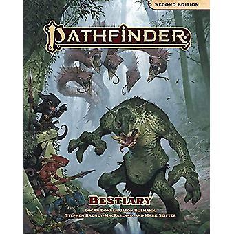 Pathfinder Bestiary (P2) by Paizo Staff - 9781640781702 Book