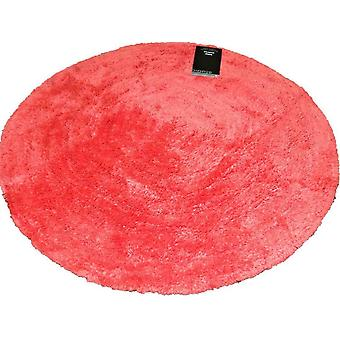 Catherine Lansfield Circle Shape Rug Red RRP £17