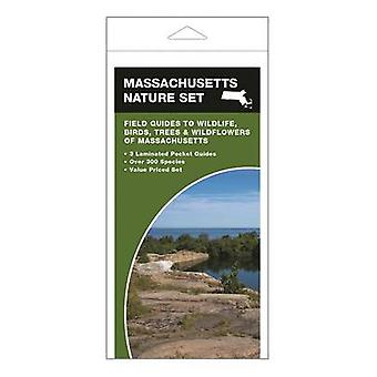 Massachusetts Nature Set - Field Guides to Wildlife - Birds - Trees &a