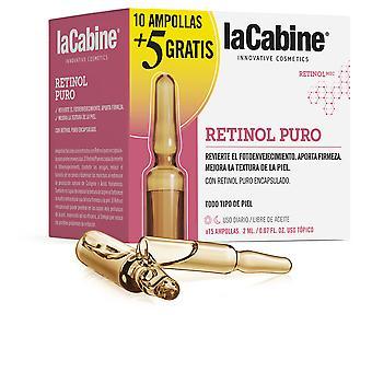 La Cabine Ampollas Retinol Puro 10 X 2 Ml + Recuperador Noche 5 X 2 Ml For Women