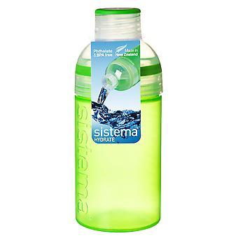 Sistema Trio Drink Bottle 480ml, Green