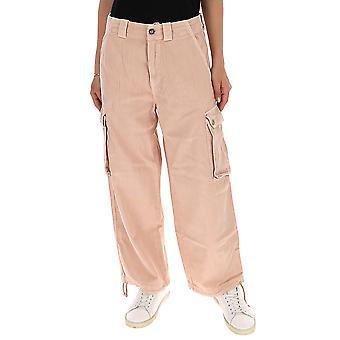 Semi-couture S0sy26e36 Women's Nude Cotton Jeans