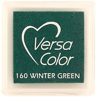 Versasmall Winter Green Pigment Small Ink Pad -Pigment Ink Craft Ink