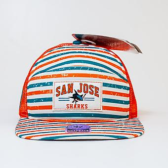 '47 Nhl San Jose Sharks Mesh Dome Trucker Snapback