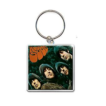 The Beatles Keyring Keychain Rubber Soul Album new Official