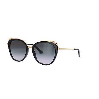 Cartier Panthére de Cartier CT0150S 001 Schwarz/Grau Sonnenbrille