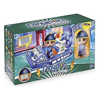 Playset Pinypon Actie Politie Famosa