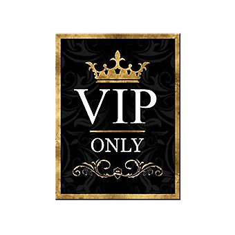 VIP Only - Nostalgic Metal Magnet - Cracker Filler Gift
