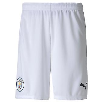 Puma Mens Manchester City Home Shorts 2020 2021 Bottoms Elasticated Waist
