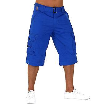 Mode hommes Capri aventure Jeans bermudas Cargo Shorts courts Camel