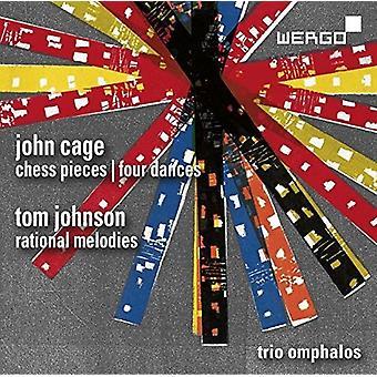 Johnson - Chess Pieces / Four Dances / Rational Melodies [CD] USA import