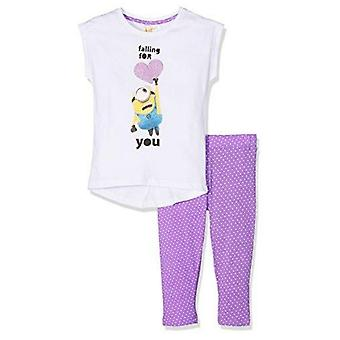 Minions girls outfit clothing set