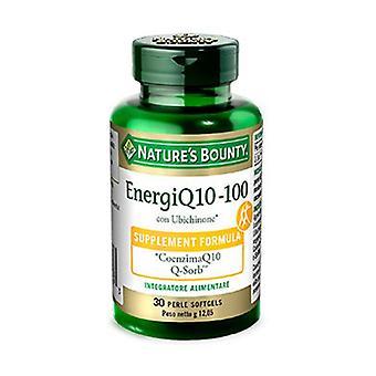 EnergiQ10-100 30 الكبسولات اللينة