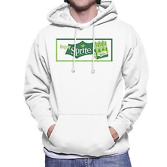 Genießen Sie Sprite Vintage Crate Logo Men es Hooded Sweatshirt