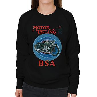 BSA Motor Cycling Empire Star Women's Sweatshirt