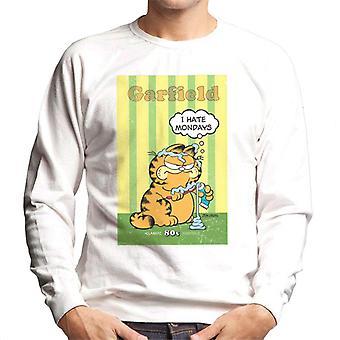 Garfield knorrige ik haat maandag tand plakken overal mannen ' s Sweatshirt