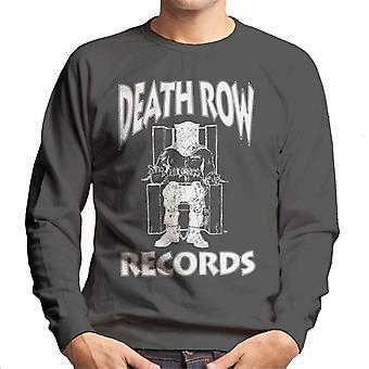 Death Row Records stoel Logo witte mannen Sweatshirt