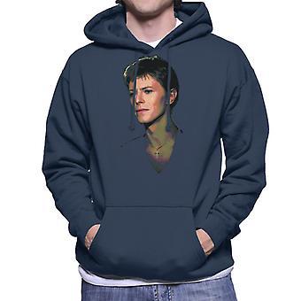 TV-Zeiten-Pop-Star David Bowie 1977 Herren Sweatshirt mit Kapuze