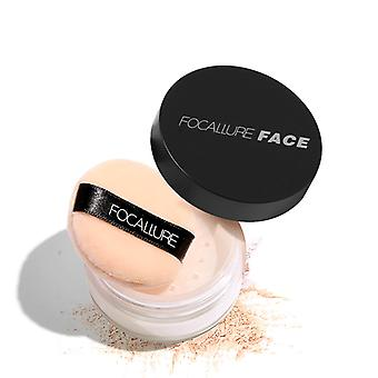 Oil Control Face Loose Mineral Powder Waterproof Makeup - Face Skin Finishing Setting Powder