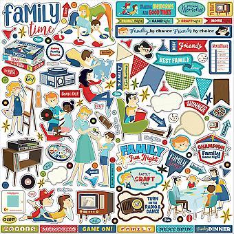 Carta Bella Family Night 12x12 Inch Element Sticker