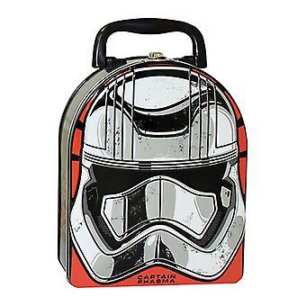Star Wars Ep VII Captain Phasma Arch Shape Carry All Tin