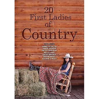20 First Ladies of Country [DVD] USA import