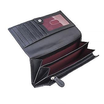 Primehide Womens Matinee Leather Wallet RFID Blocking Purse Ladies 3908