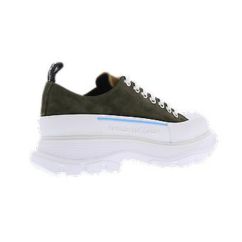 Alexander McQueen Shoe Tread.Le.S.Rub. Sens Green 627225WHBGN3043 shoe