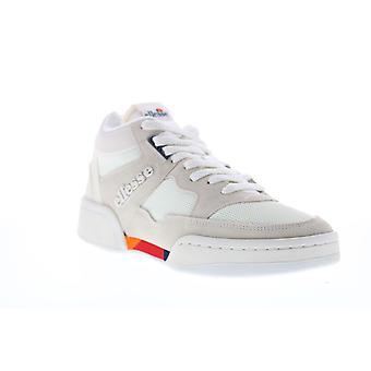 Ellesse Piazza Suede AM  Mens Beige Tan Low Top Lifestyle Sneakers Shoes