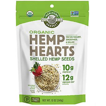 Manitoba Harvest, Hemp Hearts, Organic Shelled Hemp Seeds, Delicious Nutty Flavo