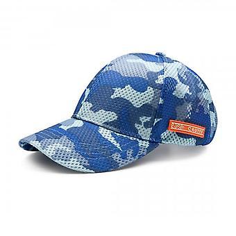 Cruyff Maxi Camo Cap Ocean Blue