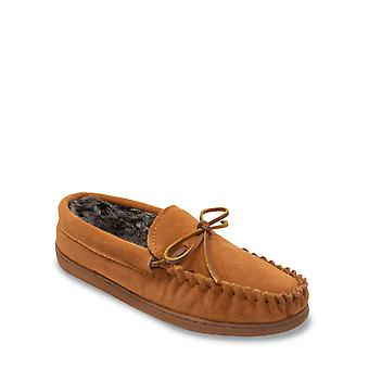 Chums Mens Real Suede Moccasin Slipper Eskdale