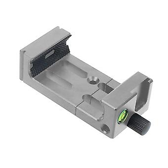 Tripod Mount Head Bracket For Mobile Phone Wth Spirit Level
