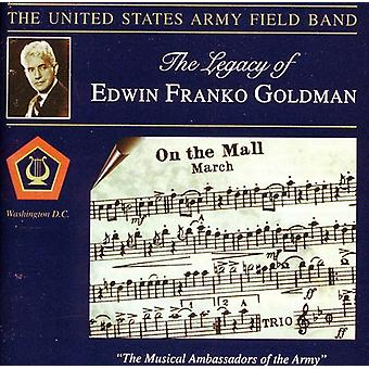 Goldman/Mennin/Milhaud/Creston/Weber/Bach - arvet av Edwin Franko Goldman [CD] USA import