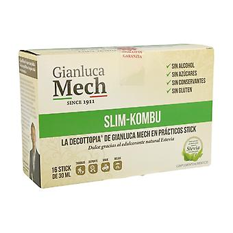 Slim Kombu Stick Single Dose met Stevia 16 eenheden van 30ml