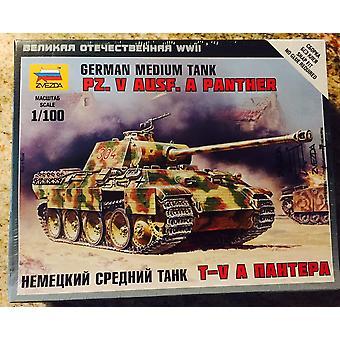 Zvezda Z6196 Pz.Kpfw V Panther Ausf Een Model Kit